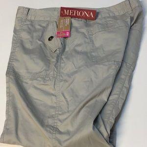 Merona  size 8 mid waist& curvy hip